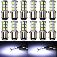 10X White 1157 S25 BAY15D 18 SMD Car Auto Led Brake Light Tail Lamp Turn Signal