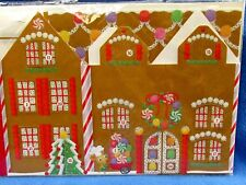 Hallmark Count Down To Christmas Calendar Advent Gingerbread House  Envelope NEW