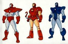 3 Iron-Man suits 1994 Marvel Action Hour Lithograph promotional Animation Cell