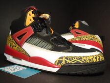 07 Nike Air Jordan SPIZIKE KING COUNTY BLACK TAXI RED WHITE GOLD 315371-071 11.5
