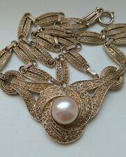 Theodor Fahrner Art Deco 1930er Silber Collier