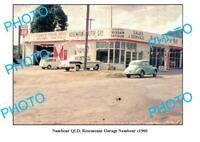 OLD 6 x 4 PHOTO OF ROSEMOUNT GARAGE c1960 NAMBOUR QLD