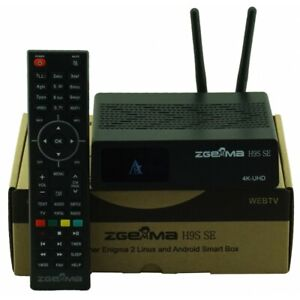 ZGEMMA H9S SE mit 300M wifi DVB-S2X Multistream 4K UHD 4K 2016P Upgrade von H9S