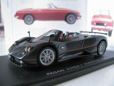 1/43 Spark PAGANI ZONDA F ROADSTER Black (2006) resin