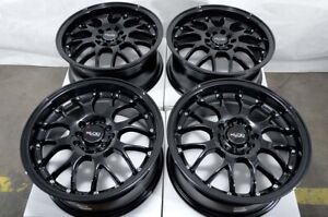 "16"" Wheels Fit Honda Accord Civic Kia Forte Soul Is250 Camry Black Rims 5 Lugs"