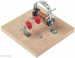 Elektrobausatz einfacher Motor Elektromotor Bausatz Kinder Bastelset ab 12 Jahre