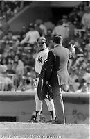 Original 35MM B&W Negative, NY Yankees Reggie Jackson May 17,1981