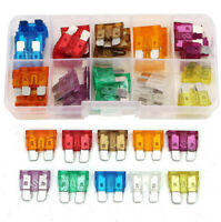 50PCS Assorted Car Small Low Profile Fuse Box 5 7.5 10 15 20 25 30 A DIY Sales