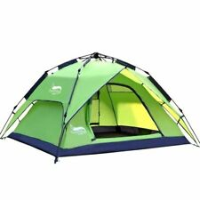 Automatic Tent 3-4 Person Portable Travel Family Tent Hiking Camping Large Tent