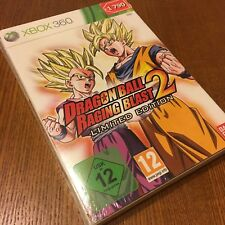 DRAGON BALL RAGING BLAST 2 LIMITED EDITION Collectors XBOX 360 NEW SEALED PAL