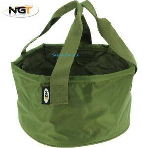 NGT Groundbait Bowl Bucket with Handles Method Mix Mixing Carp Coarse Fishing