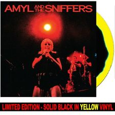 Amyl And The Sniffers - Big Attraction & Giddy Up **BLACK/YELLOW VINYL LP** PUNK