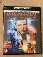 Blu-ray 4K Ultra HD Blade Runner The Final Cut (Harrison Ford)