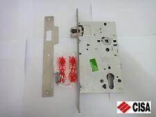 CISA EURO PROFILE LOCK CASE FOR ESCAPE/ PANIC FUNCTION DOORS 52750-70 CHROME NEW