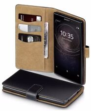 Sony Xperia L2 Case Leather Wallet Case