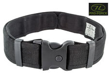 Mens Army Combat Military Security Utility Belt Quick Release SWAT Black New