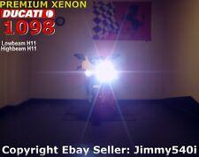 **XENON** for DUCATI 848 EVO/848S / 1098 /1098S/1198 /1198S /1198R  *HID Glare*