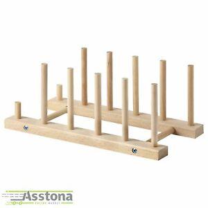 IKEA NYPLOCKAD - Platten  Tellerhalter Halter Buche