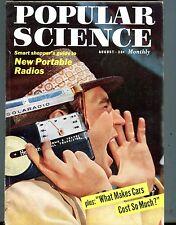 Popular Science Magazine August 1957 Portable Radios 070117nonjhe