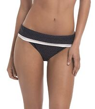 Panache SW0827 Swimwear Britt Bikini Fold / Folded Waist Pant Navy Spot