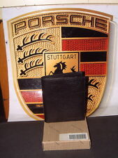 VINTAGE PORSCHE DESIGN WALLET FROM THE TRIGON COLLECTION OF 1985. NEW IN BOX!