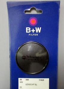 New B+W 55mm LENS CAP #305 For 52mm Slim Filter  #65-011825