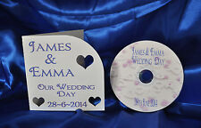 Disposable Camera Alternative~~ Personalised Wedding CD and cover