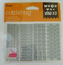 Cricut Cuttlebug Cut & Emboss Springtime Confetti Dies 2003775