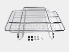 Fiat 124 Spider Luggage Rack Original Steel Chromed New