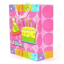 3PK Medio Di Carta Borse Regalo Decorativa Party Testo Compleanno Festa Di Nozze tutti