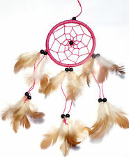 Attrape Rêve Capteur de Rêves Dreamcatcher Dream Catcher rose pink