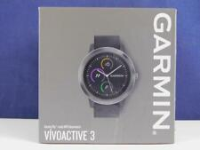 Garmin vvoactive 3 Smartwatch Fitnesstracker GPS Akku Schwarz