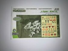 Hasbro Zoids Liger Zero # 041 1/72 Scale ( Decals and Instructions Only)