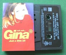Gina G ooh aah... Just A Little Bit 2 Versions Cassette Tape Single - TESTED