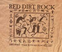 VTG Paradise Sportswear Kauai Mens T-Shirt XL Red Dirt Double Sided Graphic USA