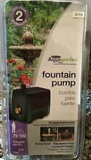Pennington Aquagarden Fountain Pump 75-150 Pond Garden Hydro Compact Pump 158G