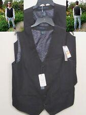 NEW Perry Ellis Mens Travel Luxe Vest Small S Medium M Large L Black