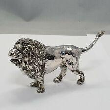 schöne Figur / Miniatur Silber 800 punziert Deutschland Löwe