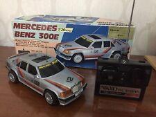 Nikko Mercedes 300E W124 Rc Car Vintage 1985 1/20 (no Taiyo Reel Tyco Polistil)