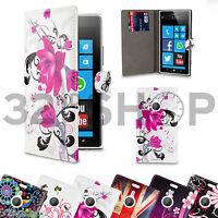 PORTE-FEUILLE HOUSSE ÉTUI À CLAPET EN CUIR SYNTHÉTIQUE Pour Nokia Lumia 1320 /