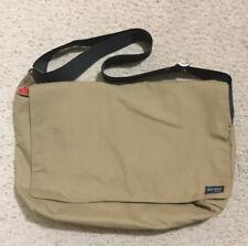 Jack Spade Messenger Bag Tan and Orange In Colors