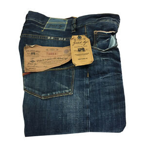 GILDED AGE Men's Jeans Mod. Ga 1011-DR 100% Cotton Made IN Italy