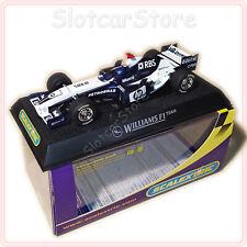 """Scalextric C2646 Formel 1 BMW Williams F1 FW27 2005 """"No.7 Mark Webber"""" 1:32 Auto"""