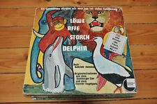 Löwe Affe Storch Delphin - Zoo Tiere Hörspiel Album Vinyl LP