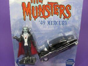 The MUNSTERS '49 MERCURY & GRANDPA FIGURE by RACING CHAMPIONS ERTL, 1:64 Scale