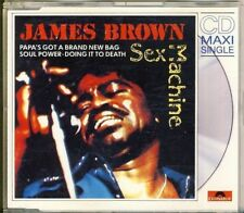 JAMES BROWN - sex machine      4 trk MAXI CD