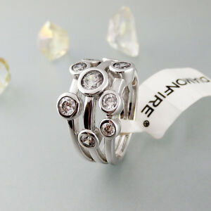 Diamonfire Ring Zirkoniabesatz 925/- Sterlingsilber