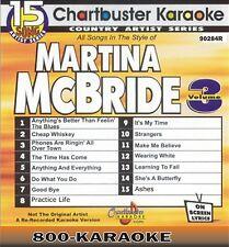 Chartbuster Karaoke Artist Series CD+G #9284R Matina McBride v.3 15 Song kareoke