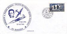 ENVELOPPE HOMMAGE A PIERRE DECROO - PILOTE DE CHASSE DCD EN 1980