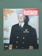 """ILLUSTRATED"" MAGAZINE AUG 18TH 1945 BONNIE PRINCE CHARLIE, MERCHANT SHIPS ETC"